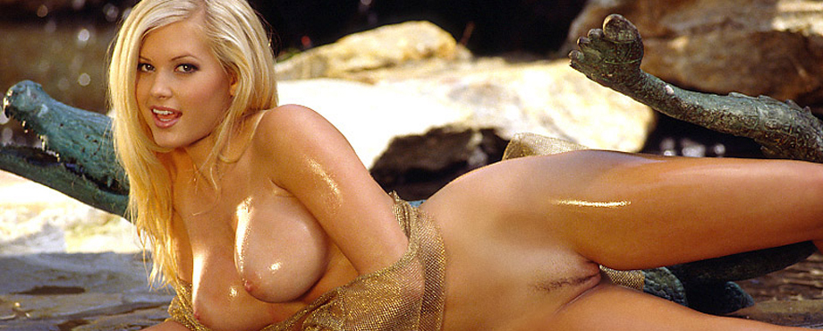 suzanne Playboy stokes nude playmate