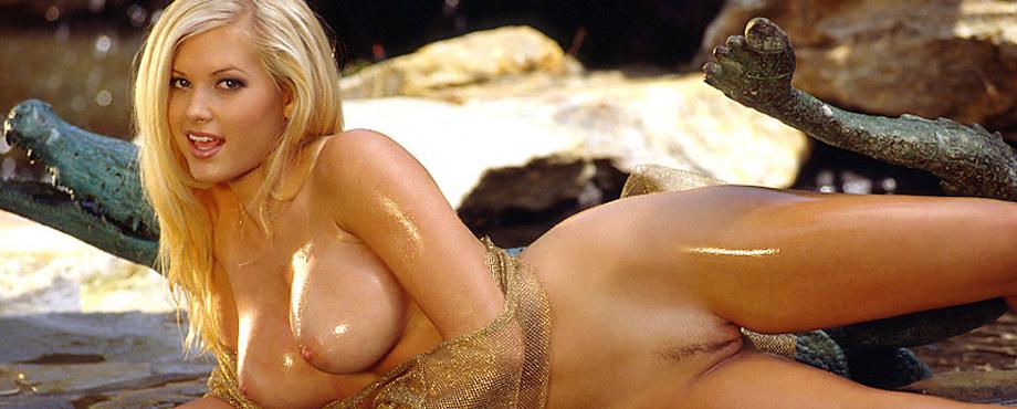suzanne Playboy stokes nude playmate