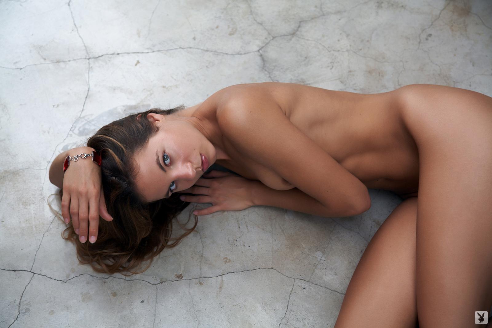 Naked muscle men body