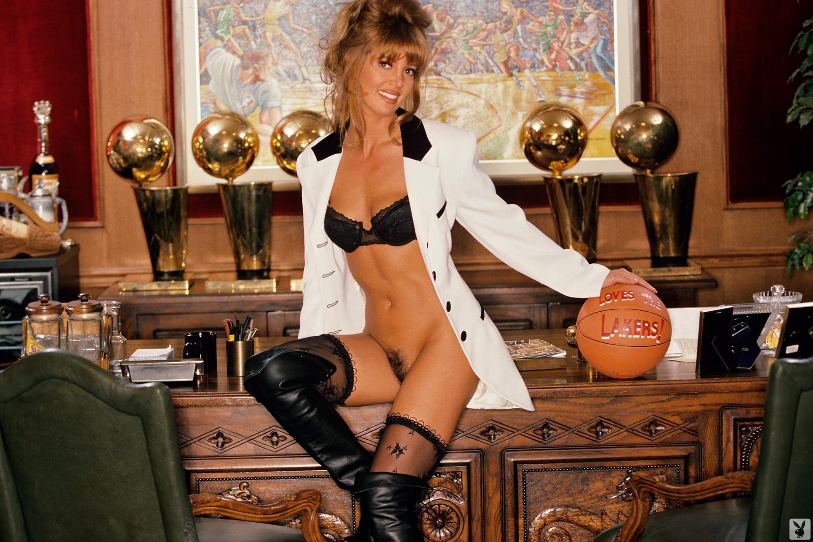 Playboy pics of jeanie buss pics 657