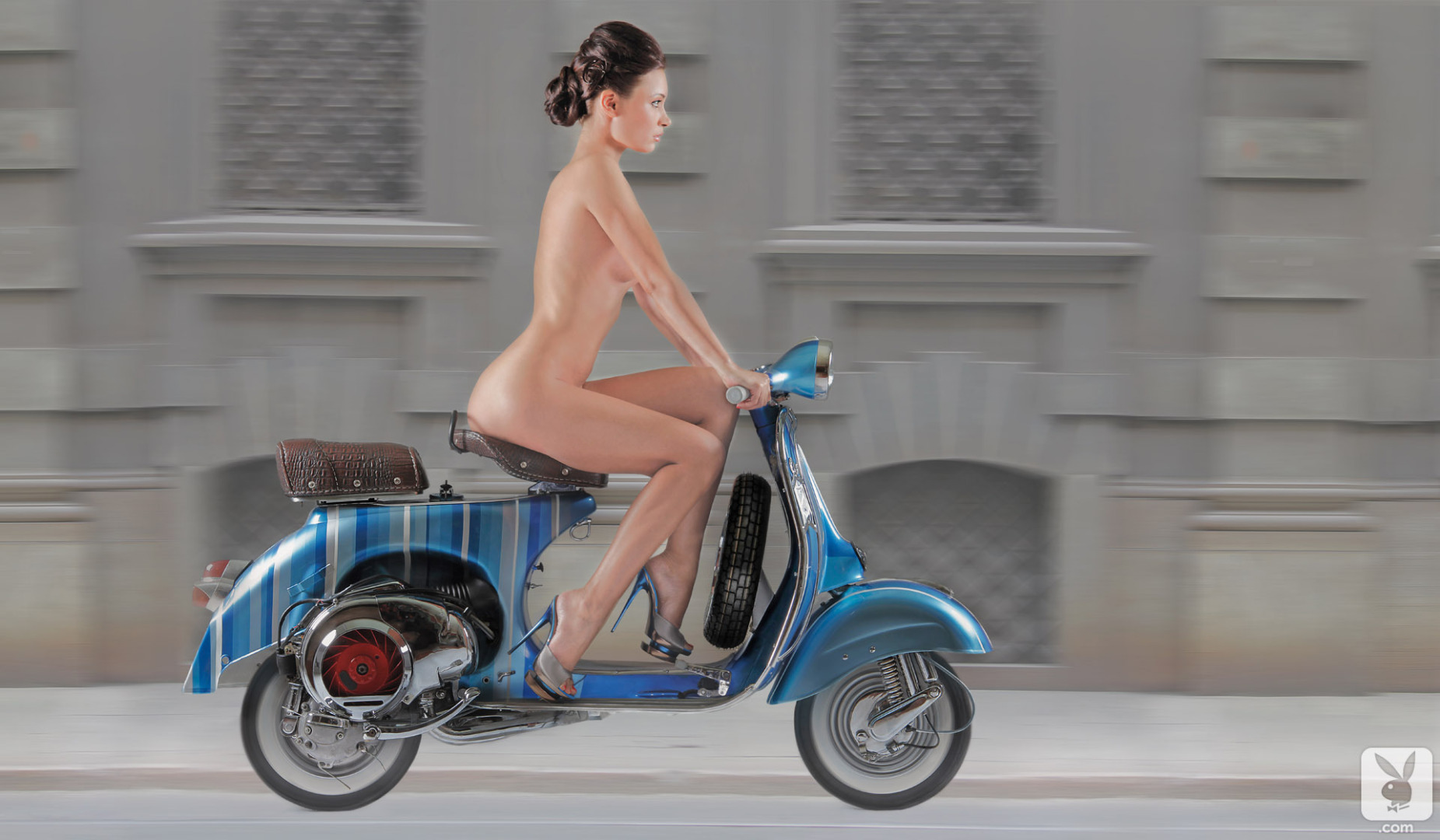 Confirm. join nude women on scooters
