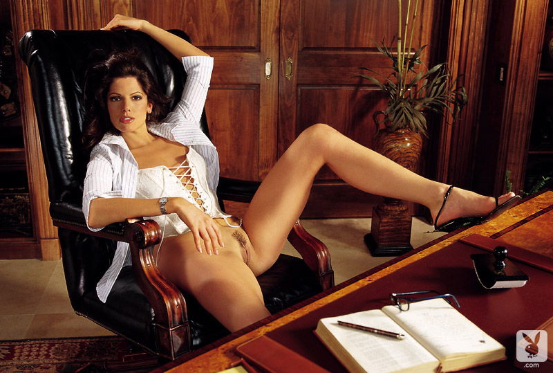 women of enron in playboy nude