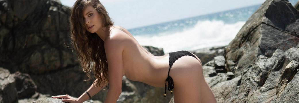 Lauren Lee in Beachfront Paradise
